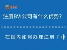 注册BVI公司有什么优势?在国内如何办理注册?