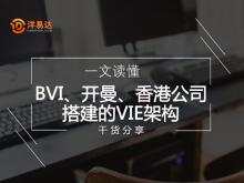 一文读懂BVI、开曼、香港公司搭建的VIE架构!