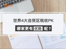 世界4大自贸区税收PK,哪家更有优势呢?