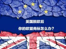 英国脱欧了,你的欧盟商标该怎么办?